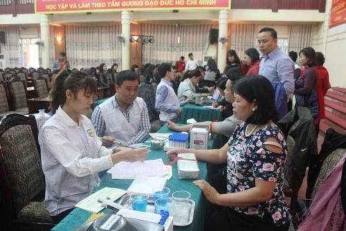 Sơn Tây tổ chức ngày hội hiến máu tình nguyện