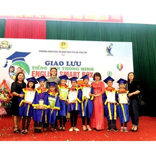 Học sinh lớp 4 trường TH Trần Phú tham gia Giao lưu Tiếng Anh Thông minh – English Smart Box