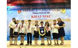 Trường Tiểu học Trần Phú tham gia hội thi tin học trẻ thành phố Hà Nội lần thứ 23