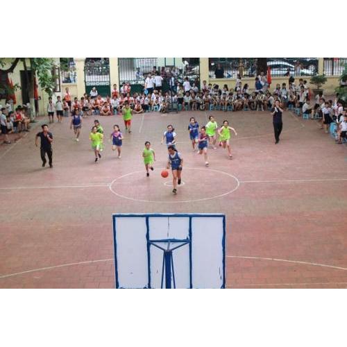 Sôi động, hào hứng 'Giải bóng rổ lần thứ 1 năm 2019' trường Tiểu học Trần Phú