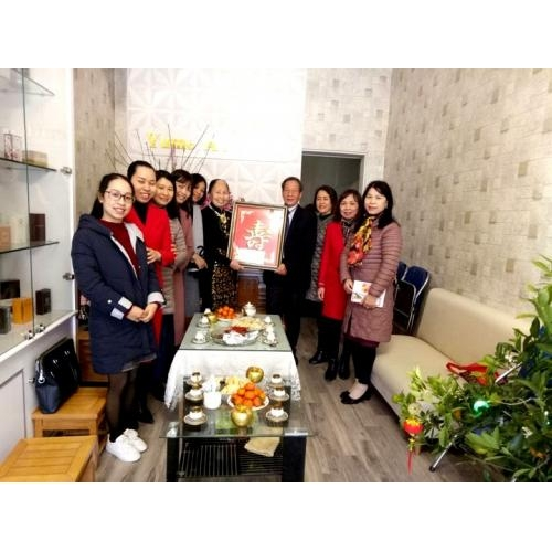 Trường TH Trần Phú 'Chúc Thọ - Mừng Thọ' các cụ Tứ thân phụ mẫu của các công đoàn viên trong nhà trường