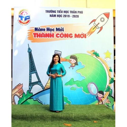 Nữ Hiệu trưởng năng động, nhiệt huyết của trường Tiểu học Trần Phú