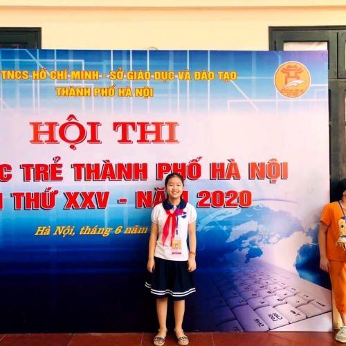 Hội thi Tin học trẻ Thành phố Hà Nội lần thứ XXV - Năm 2020.