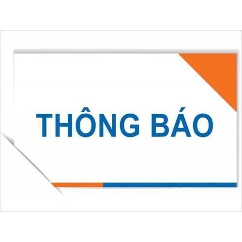 Thông báo thí sinh dự tuyển viên chức giáo dục thị xã Sơn Tây năm 2020