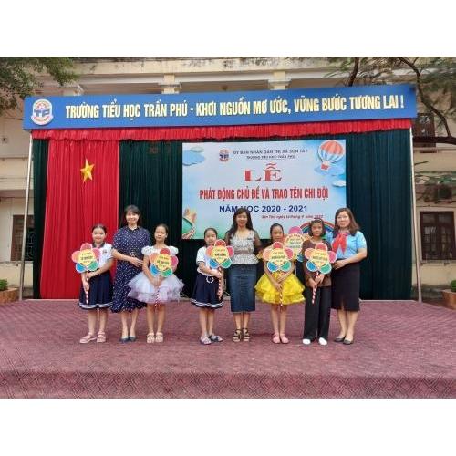 Lễ phát động chủ đề và trao tên chi đội năm học 2020 - 2021