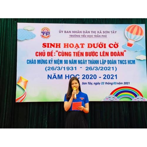 Ngày hội  'Tiến bước lên Đoàn' Chào mừng kỷ niệm 90 năm Ngày thành lập Đoàn TNCS Hồ Chí Minh 26/3/1931- 26/3/2021